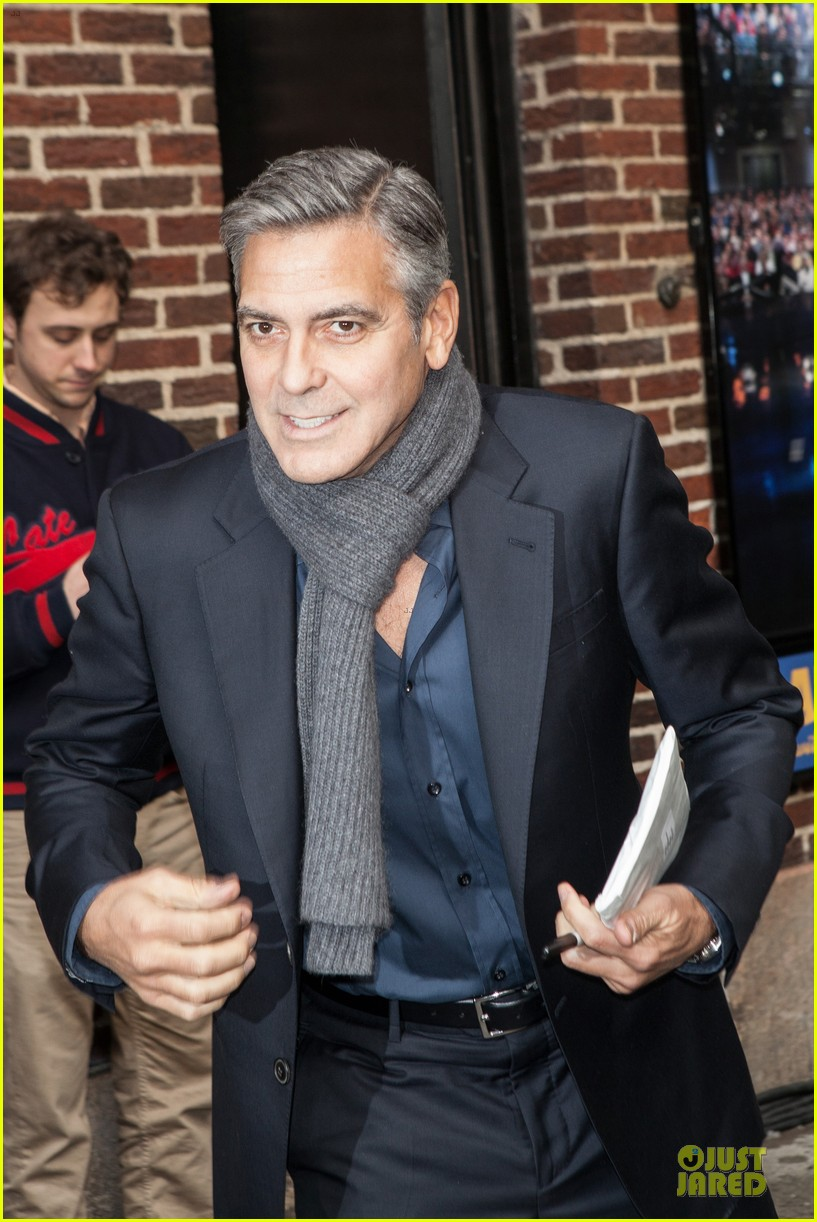 george clooney monuments men nyc premiere 11