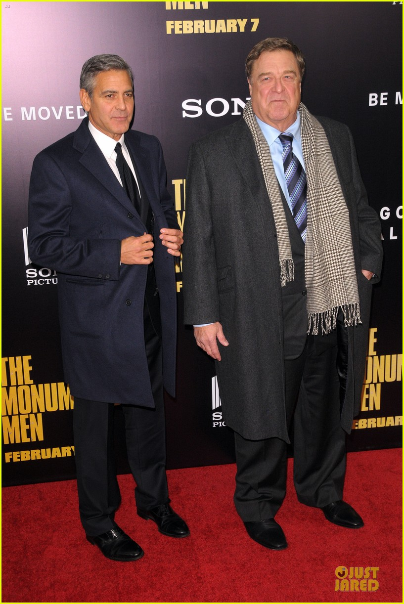 george clooney monuments men nyc premiere 20
