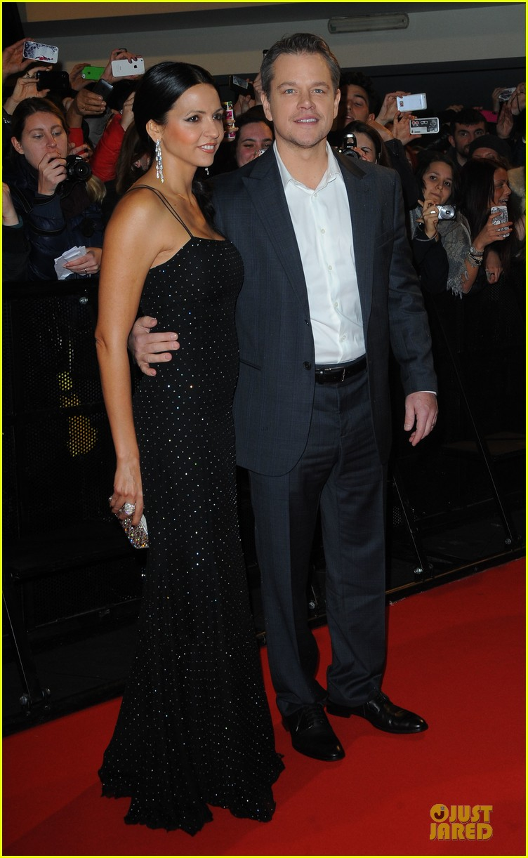 george clooney matt damon monuments men milan premiere 133050875
