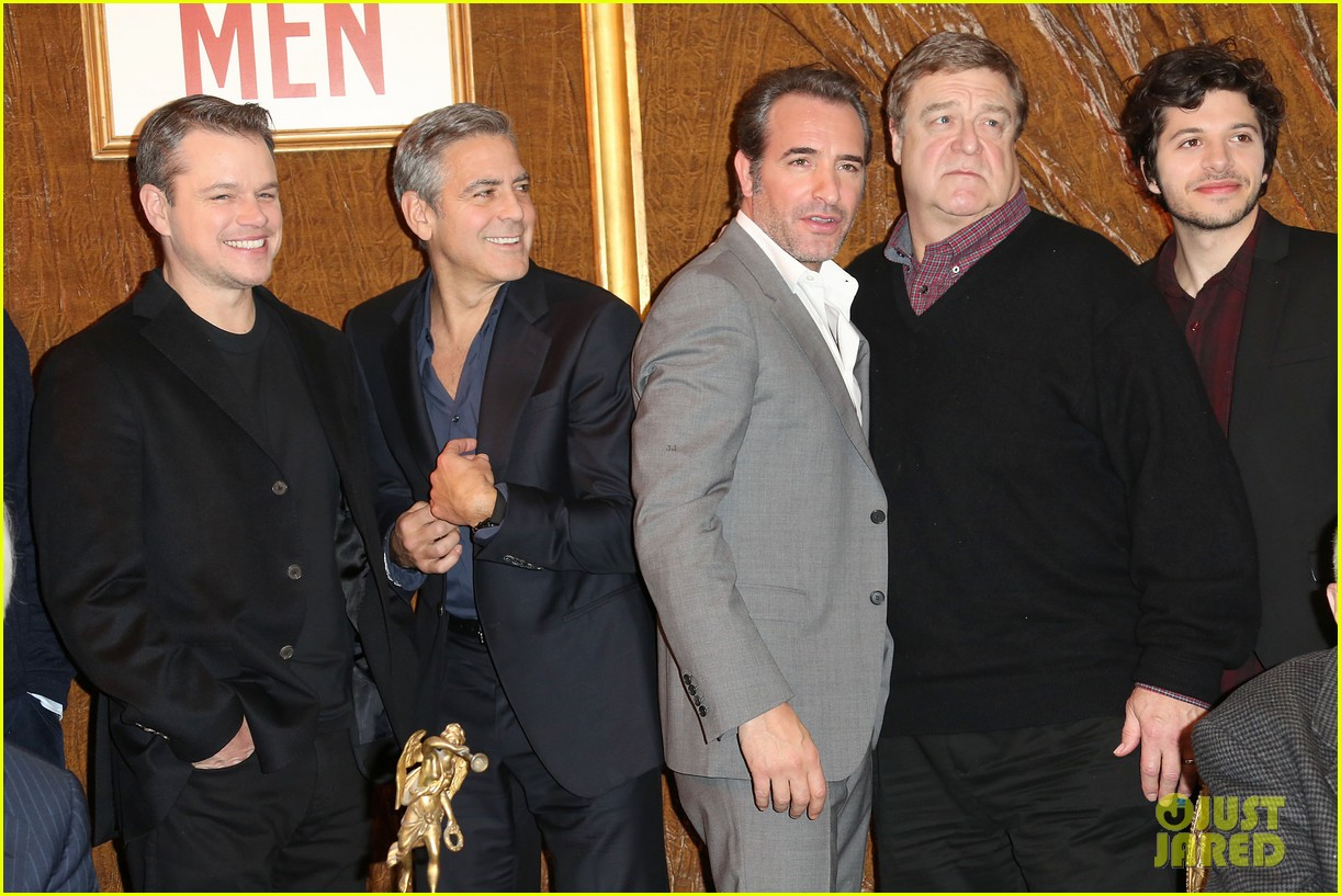 george clooney matt damon bring monuments to paris 303052423