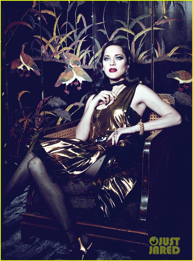 marion cotillard to interview i would like to play a man 033059735