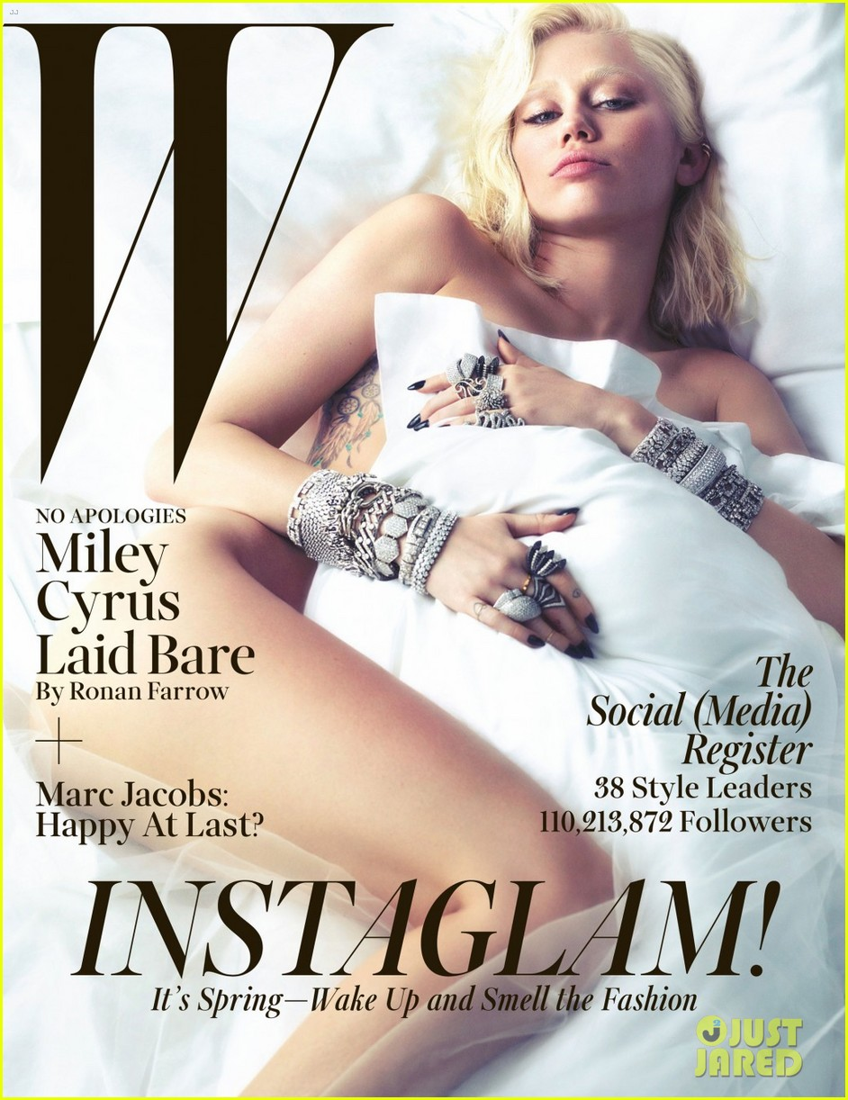 miley cyrus poses naked for w magazine march 2014 013046724