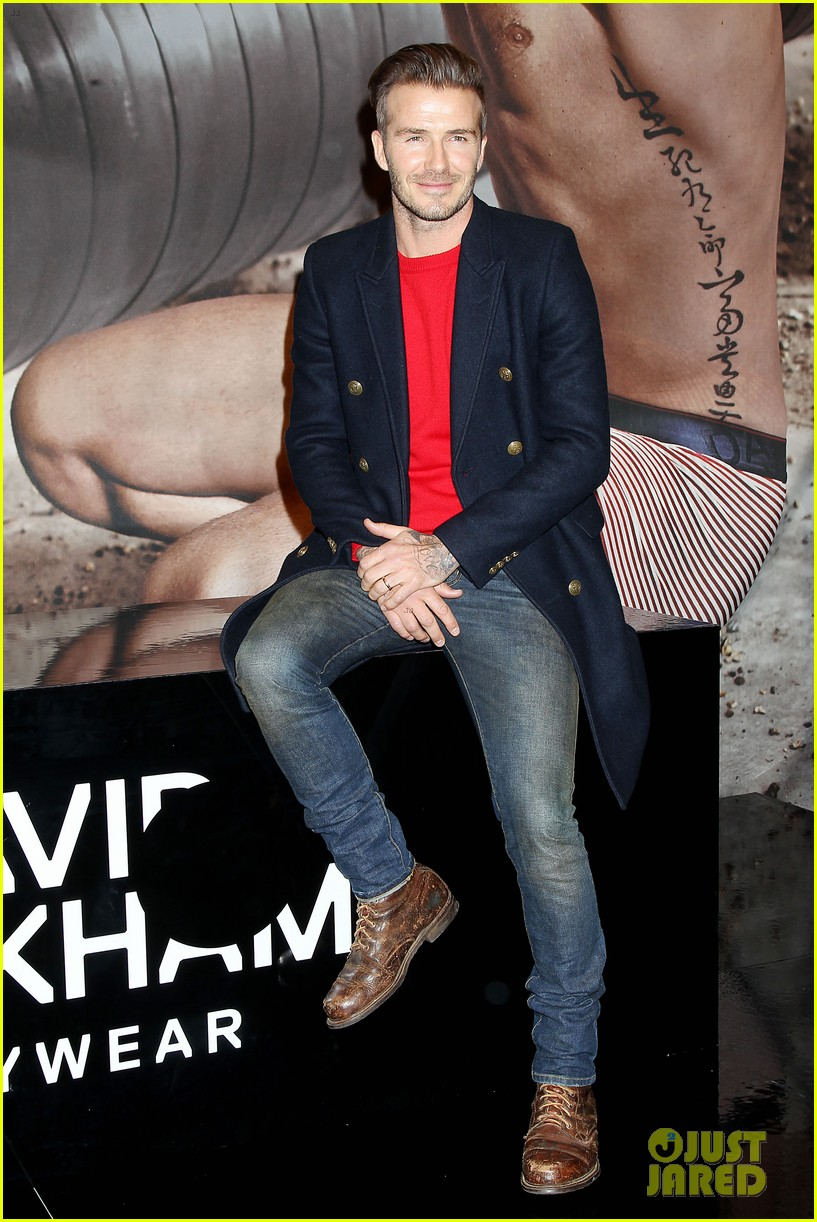 david beckham promotes hm body wear collection nyc 163045552