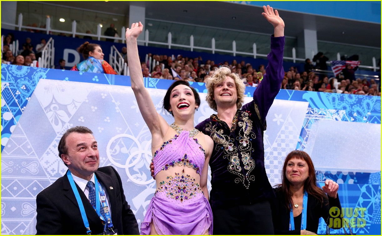 meryl davis charlie white win gold in ice dancing 013055104