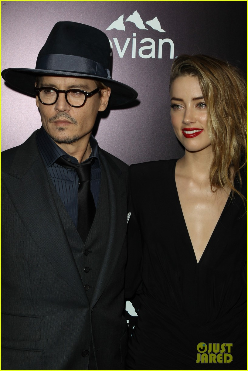 johnny depp supports amber heard at 3 days to kill premiere 10