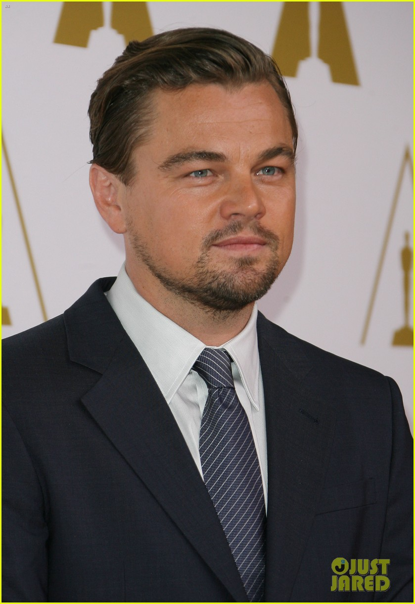 leonardo dicaprio jonah hill bring wall street to oscars nominees luncheon 2014 15