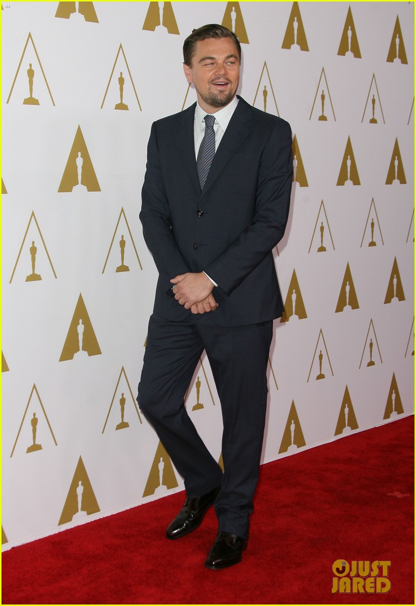 leonardo dicaprio jonah hill bring wall street to oscars nominees luncheon 2014 173050828