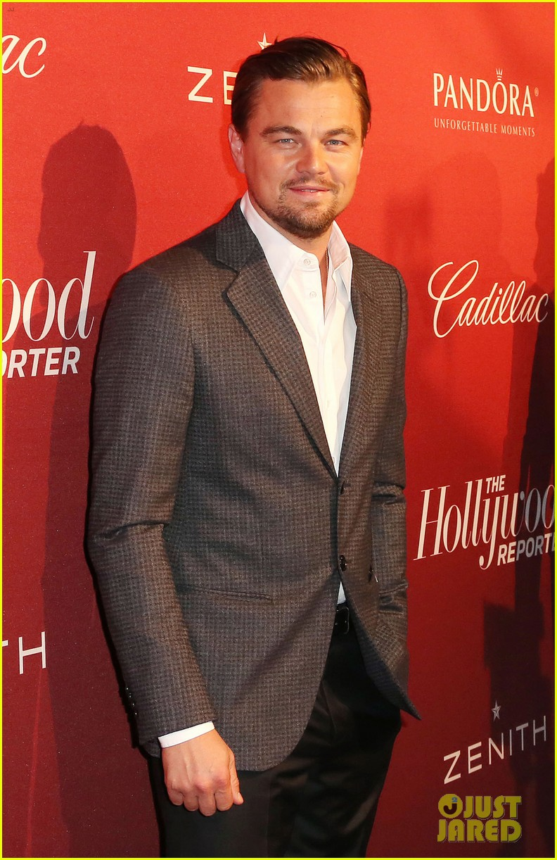 leonardo dicaprio thrs nominees night party 2014 03