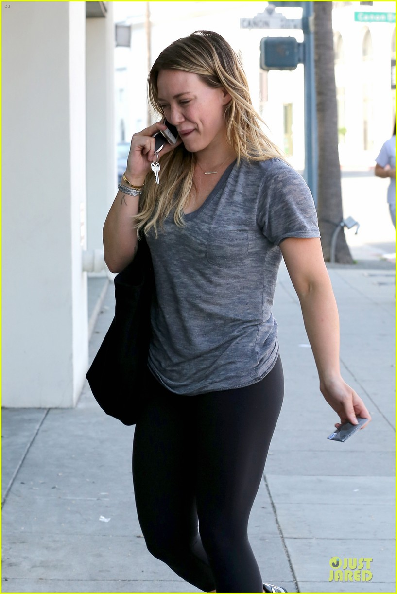 hilary duff fitness first following nyc trip 183055957