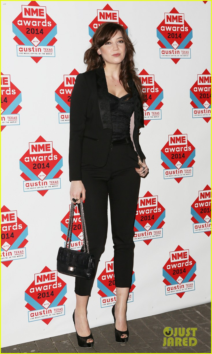 luke evans lily allen nme awards 2014 013061507