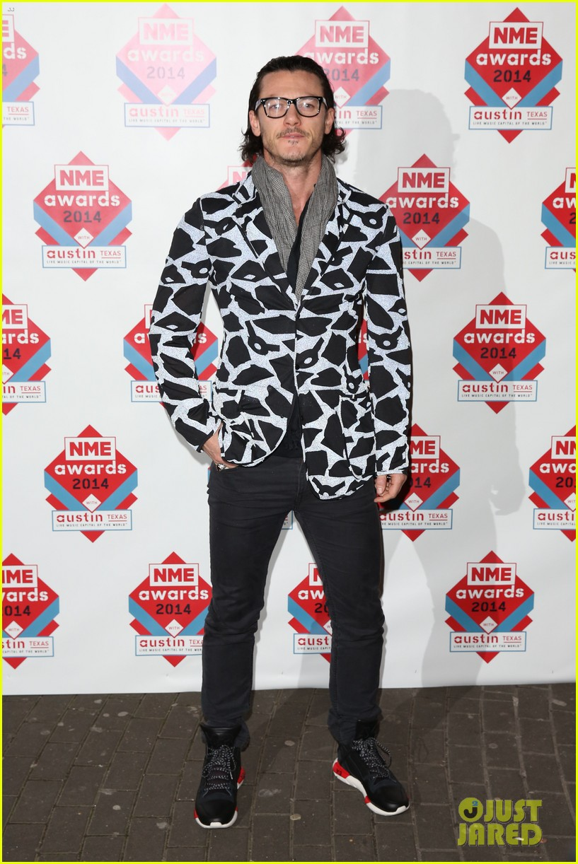 luke evans lily allen nme awards 2014 12