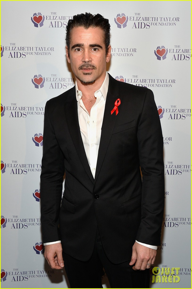 katharine mcphee colin farrell elizabeth taylor aids foundation art auction 06