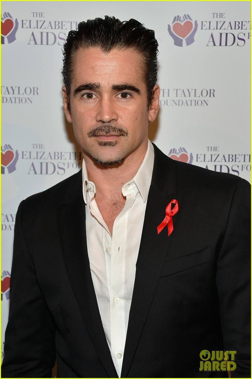 katharine mcphee colin farrell elizabeth taylor aids foundation art auction 073062298