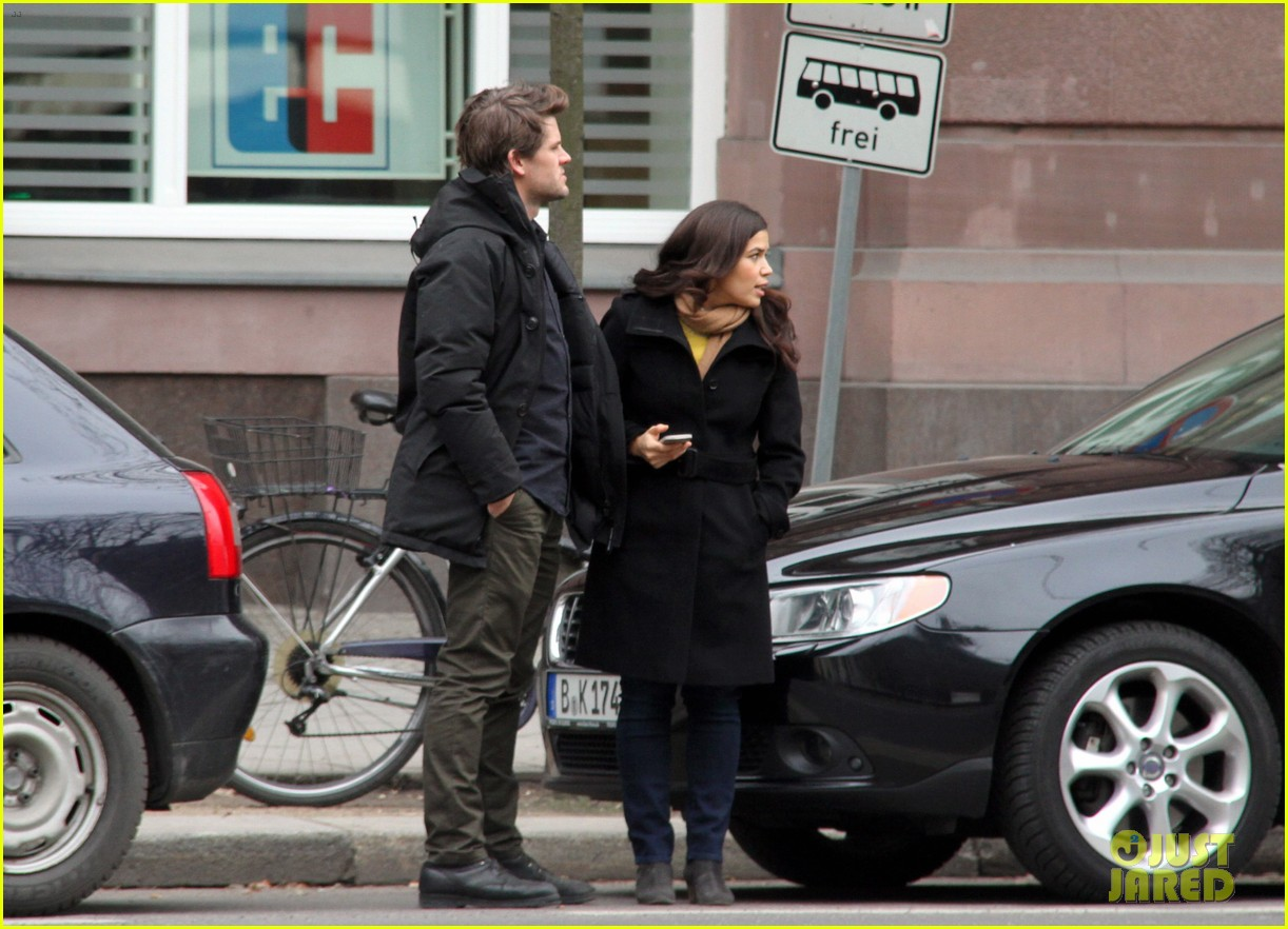 america ferrera goes sightseeing in berlin with her husband 12