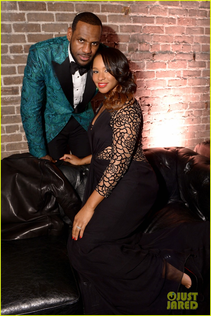 gabrielle union dwyane wade gq nba all star party with lebron james 04