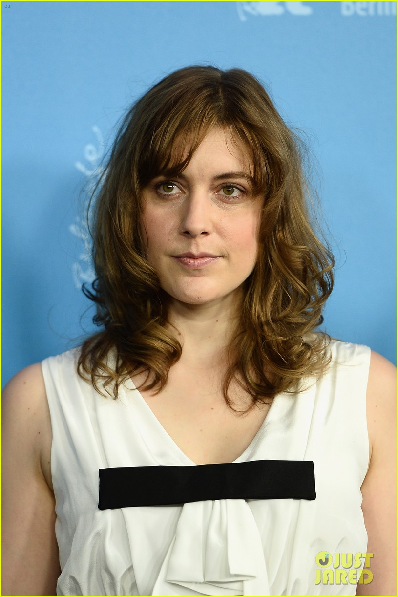 greta gerwig christoph waltz berlinale festival 2014 jury photo call 083048506