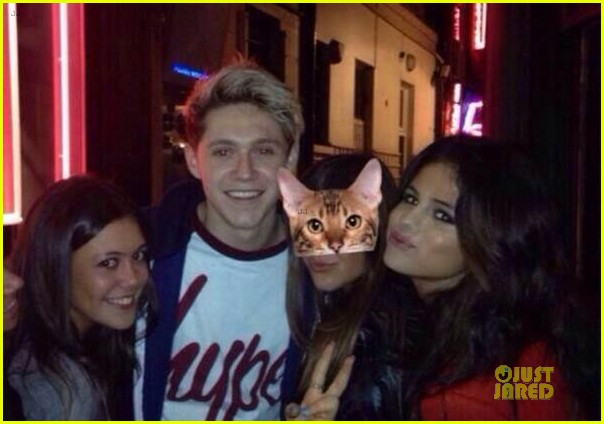 selena gomez niall horan spotted hanging out in london 01