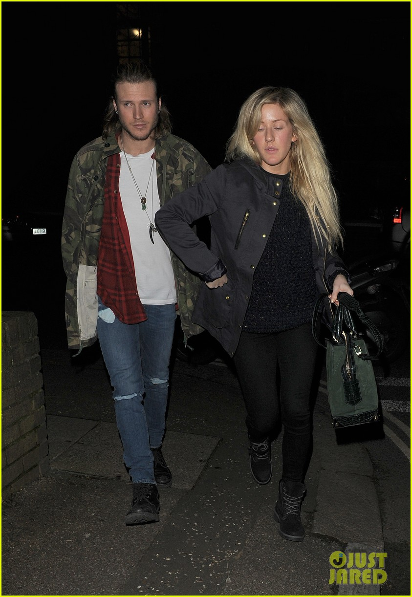 ellie goulding rumored boyfriend dougie poynter step out together 10