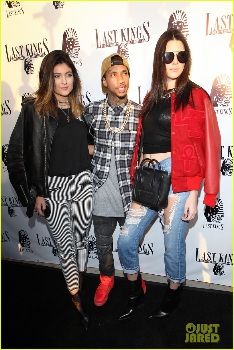 kendall kylie jenner tygas last kings store press preview 09