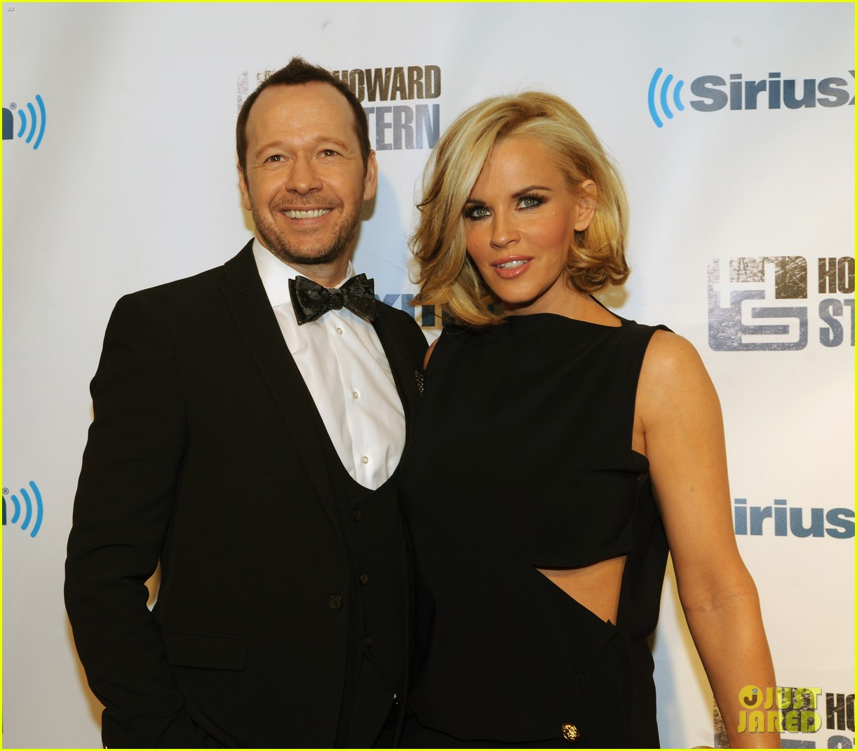 jenny mccarthy donnie wahlberg howard stern birthday bash couple 06