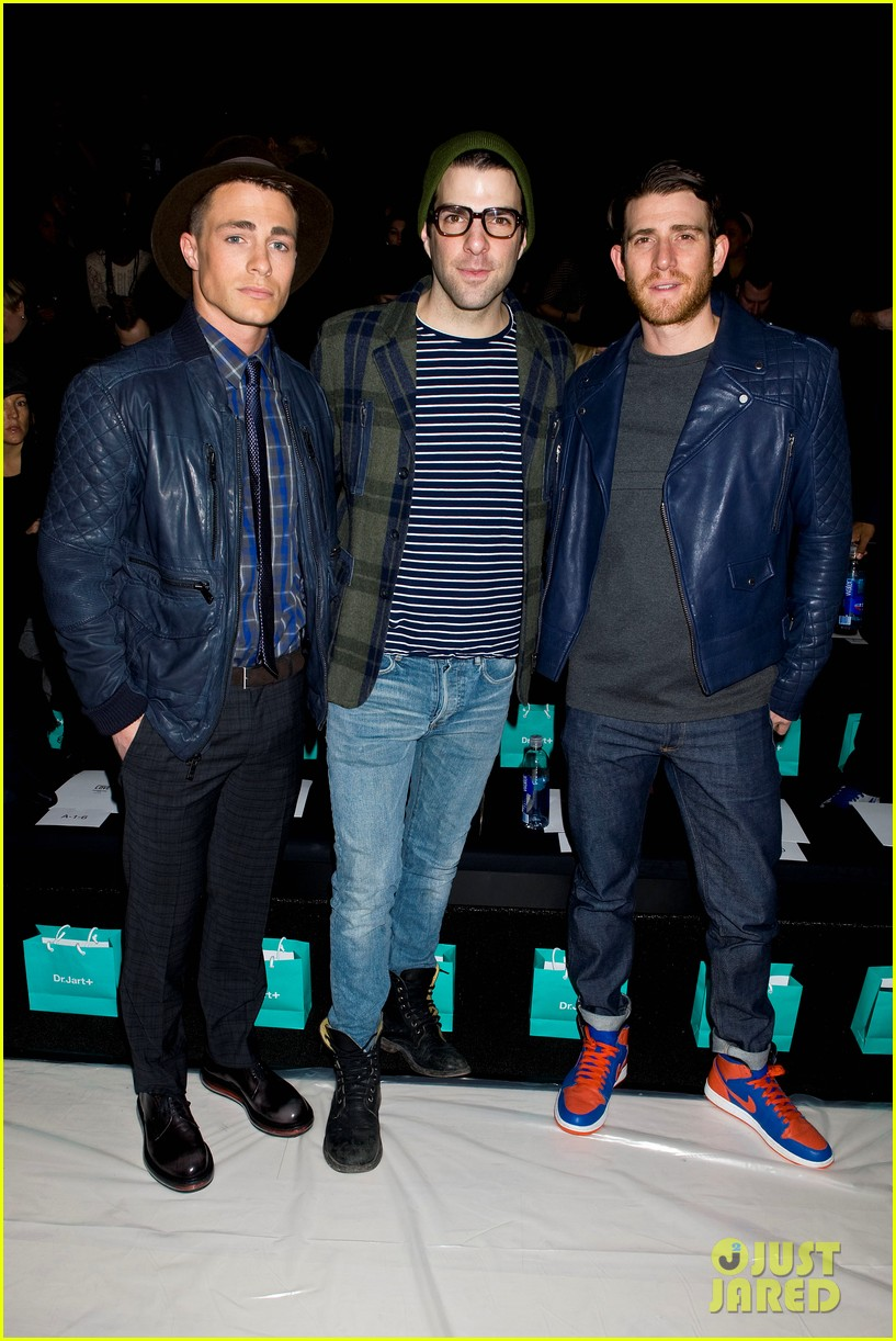joe jonas colton hanyes richard chai new york fashion show 11