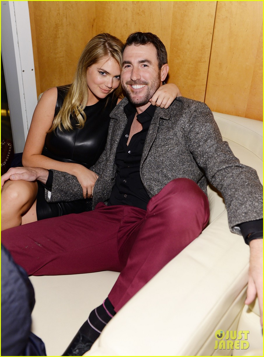 kate upton justin verlander gq super bowl party 2014 053045438