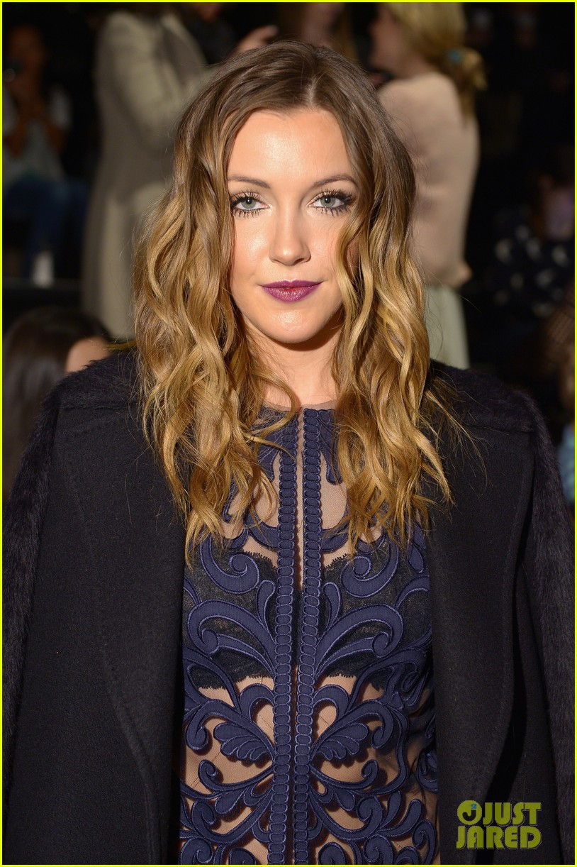 katie cassidy front row katya zol lela rose fashion shows 04