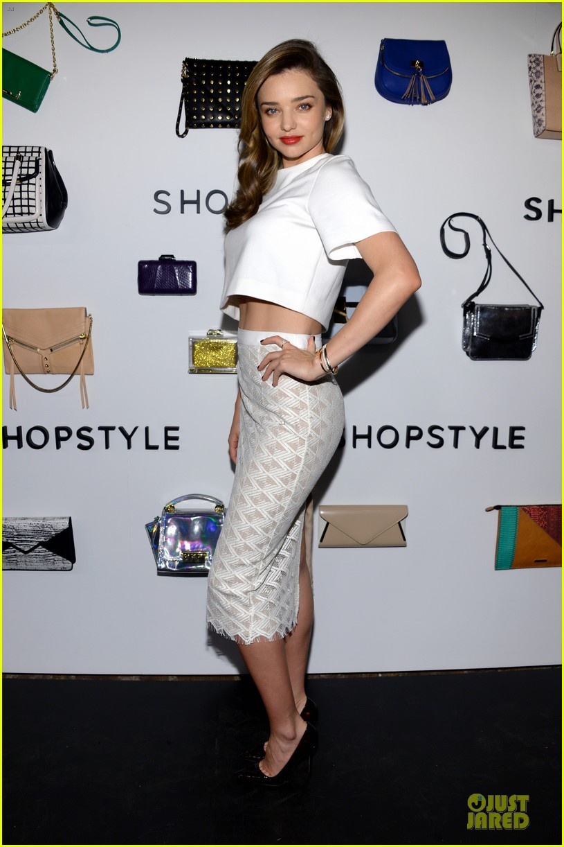 miranda kerr flaunts midriff at we search we find we shopstyle launch 033047125
