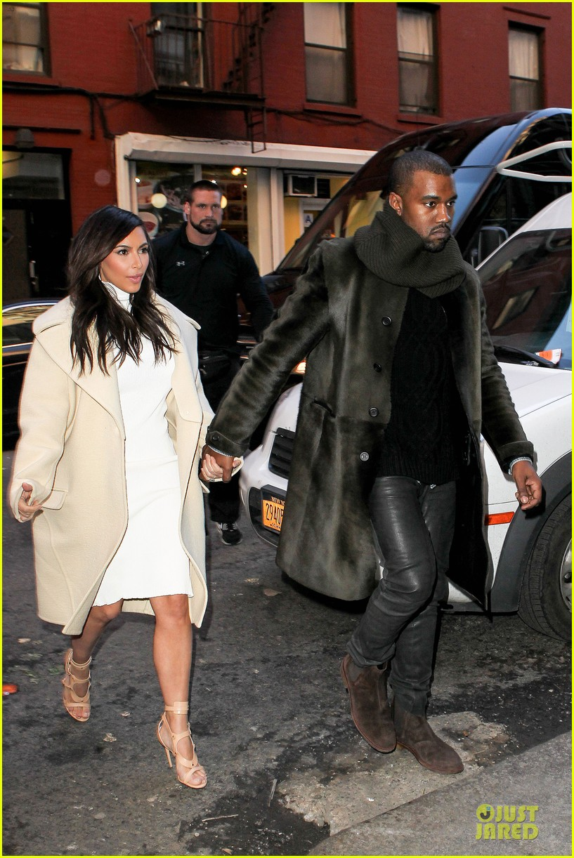 kim kardashian kanye west hold hands at abc kitchen 113058549