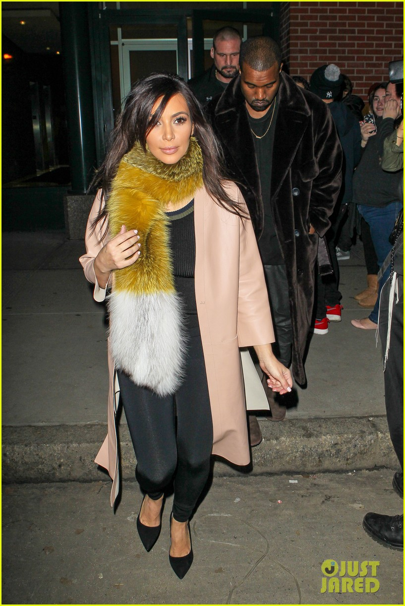 kim kardashian kanye west step out before new kuwtk episode 11