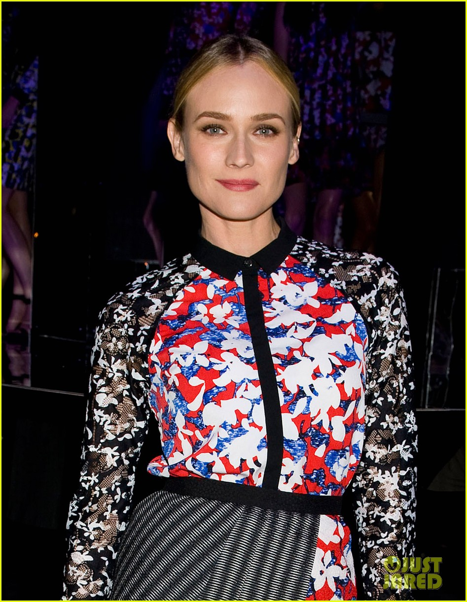 diane kruger rocks floral print at peter pilotto for target event 02