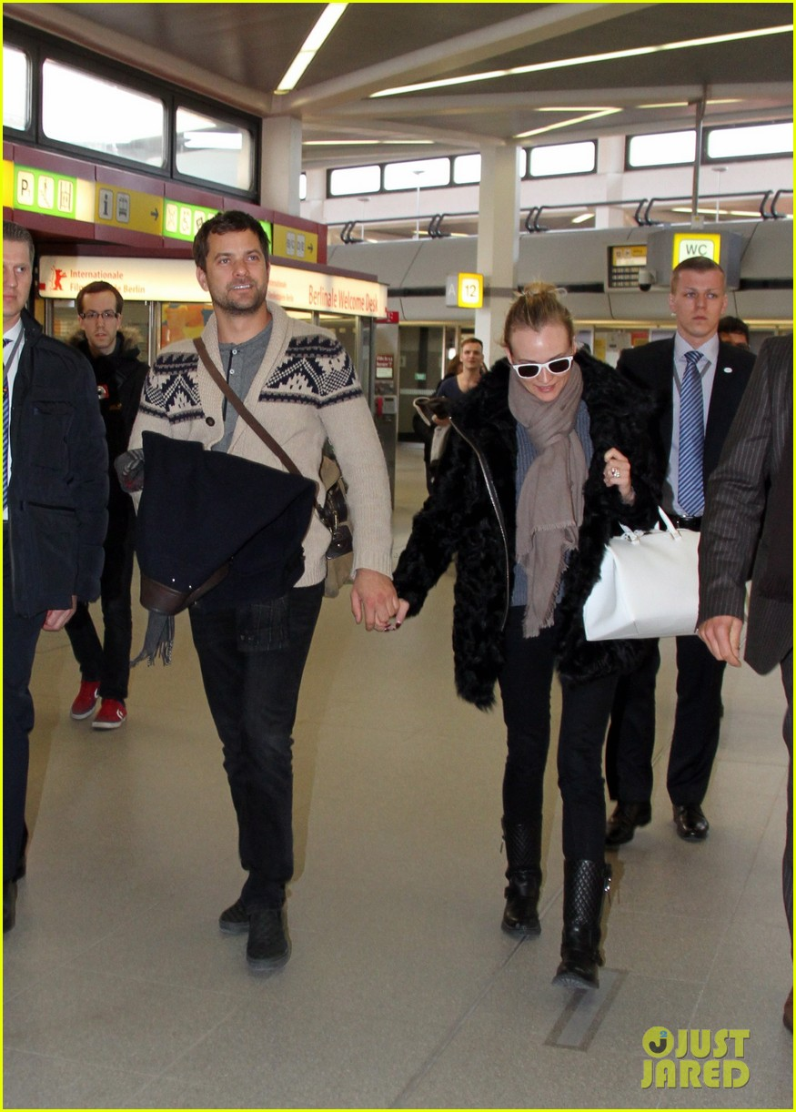 diane kruger joshua jackson share a smile while leaving berlin 06