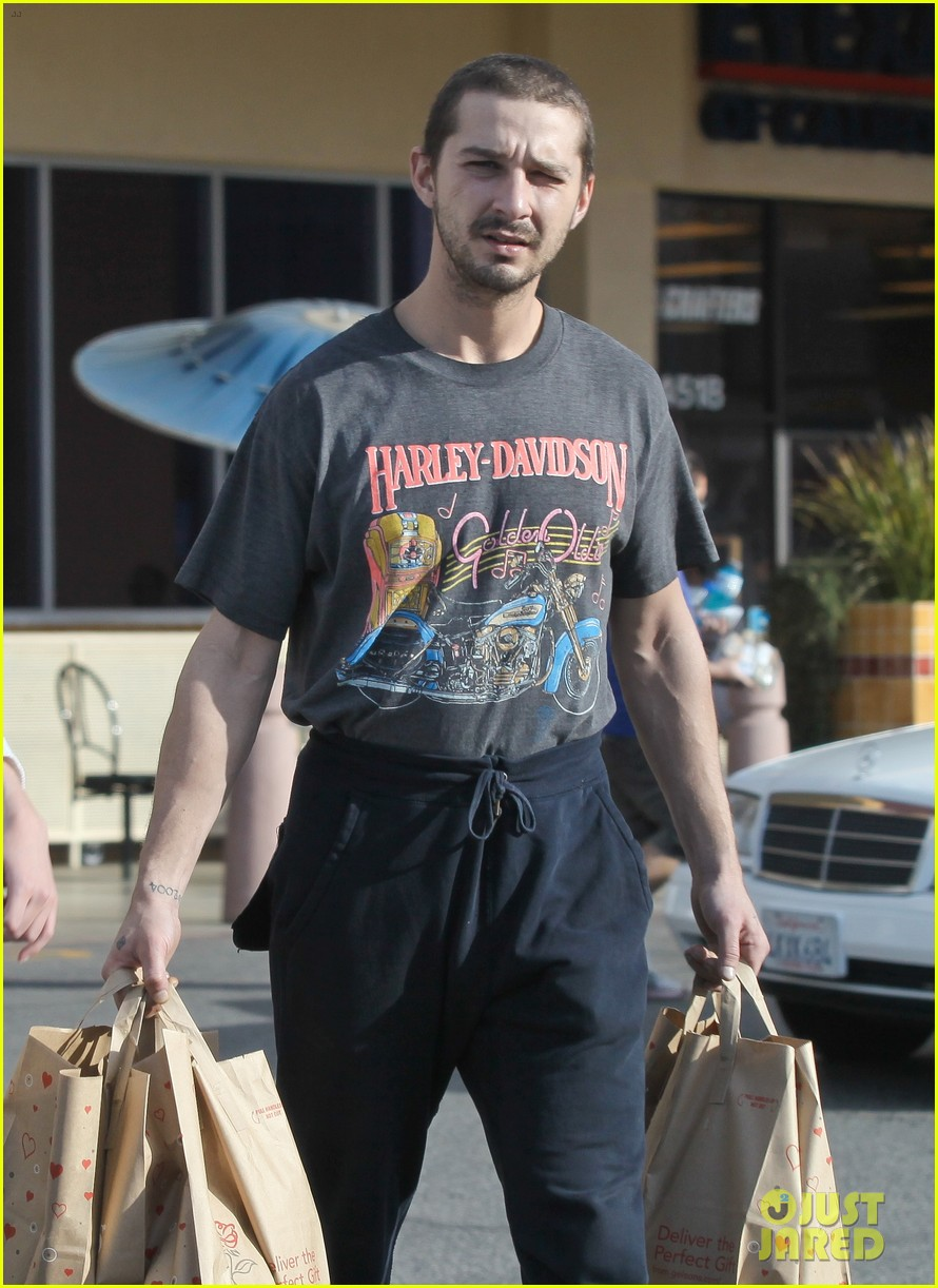 shia labeouf girlfriend mia goth pda pair while shopping 063055255