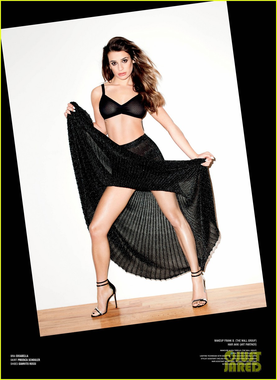lea michele v magazine feature 043060406