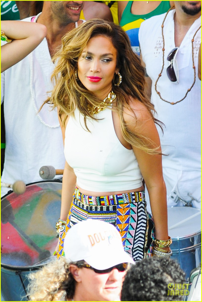 jennifer lopez shoots vibrant world cup music video 07