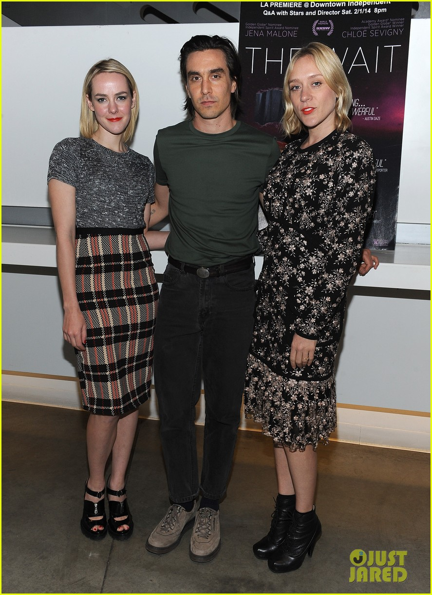 jena malone chloe sevigny the wait screening 03