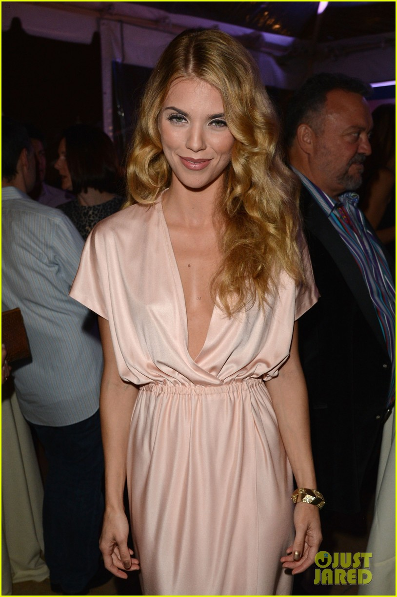 annalynne mccord adrien brody hollywood domino gala 2014 043062190