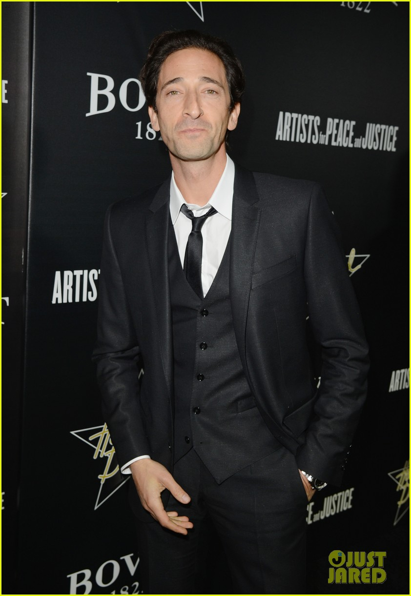 annalynne mccord adrien brody hollywood domino gala 2014 14