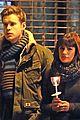 lea michele chris colfer film memorial scene for glee 23