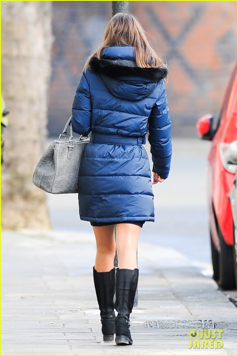 pippa middleton braves cold london wea