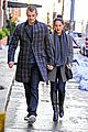 olivia munn joel kinnaman hold hands on wet valentines day 08