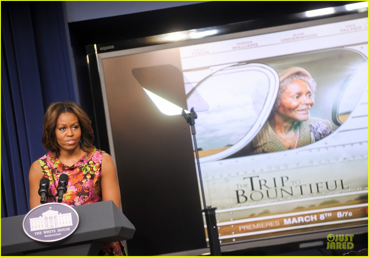 michelle obama vanessa williams trip to bountiful screening 073060132