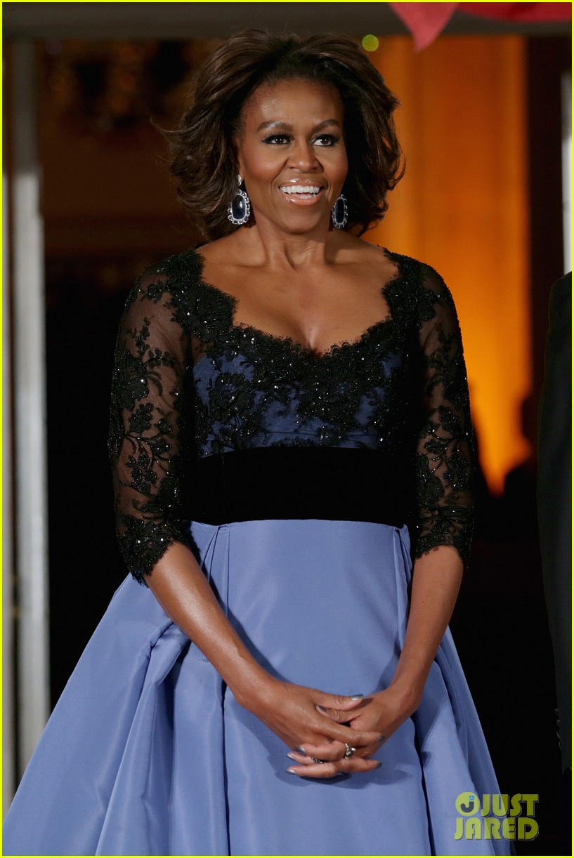 barack michelle obama white house state dinner 02