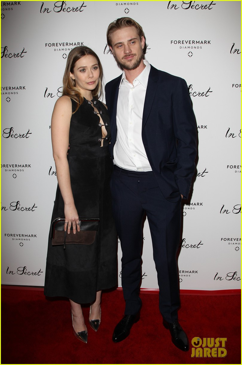 elizabeth olsen tom felton date night at in secret premiere 053048962