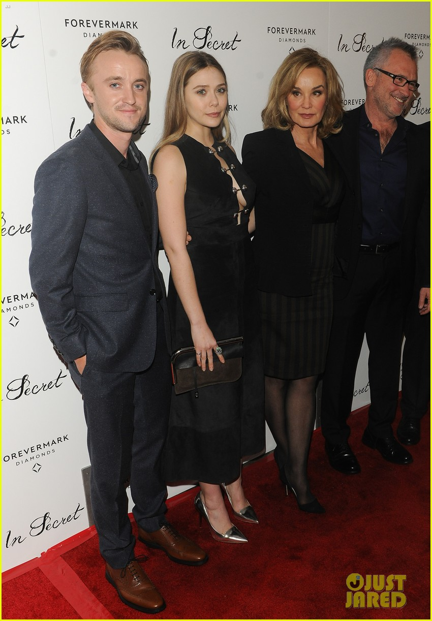 elizabeth olsen tom felton date night at in secret premiere 15