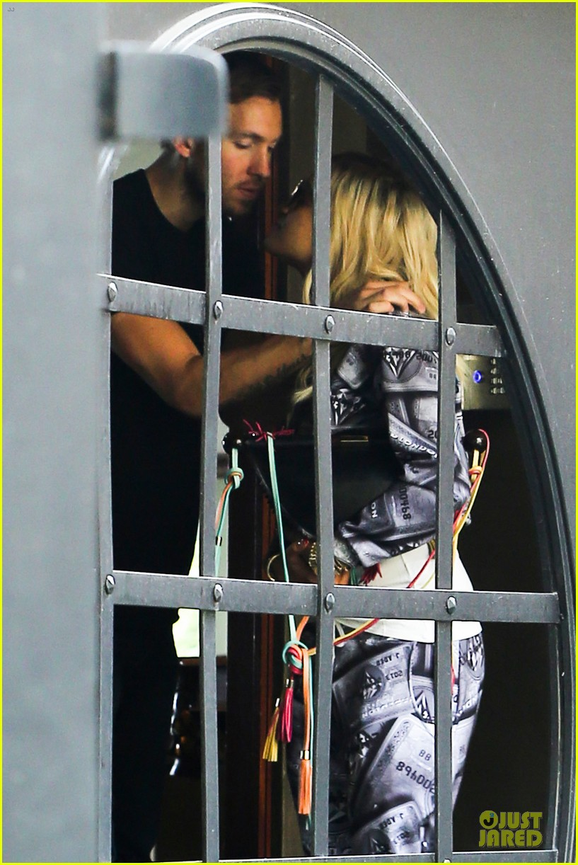 rita ora kisses calvin harris in credit card ensemble 07