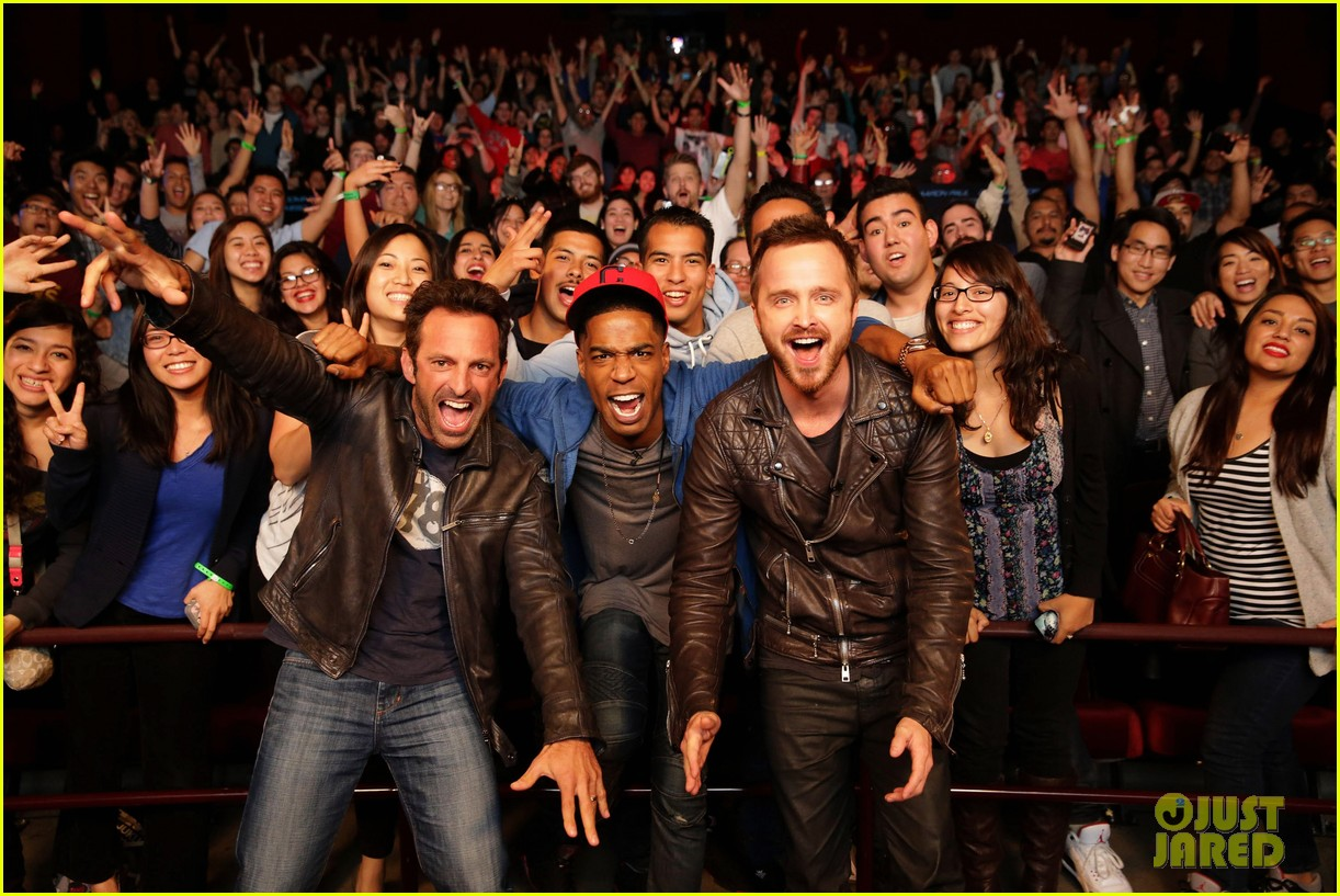aaron paul kid cudi need for speed advance screening 043057088