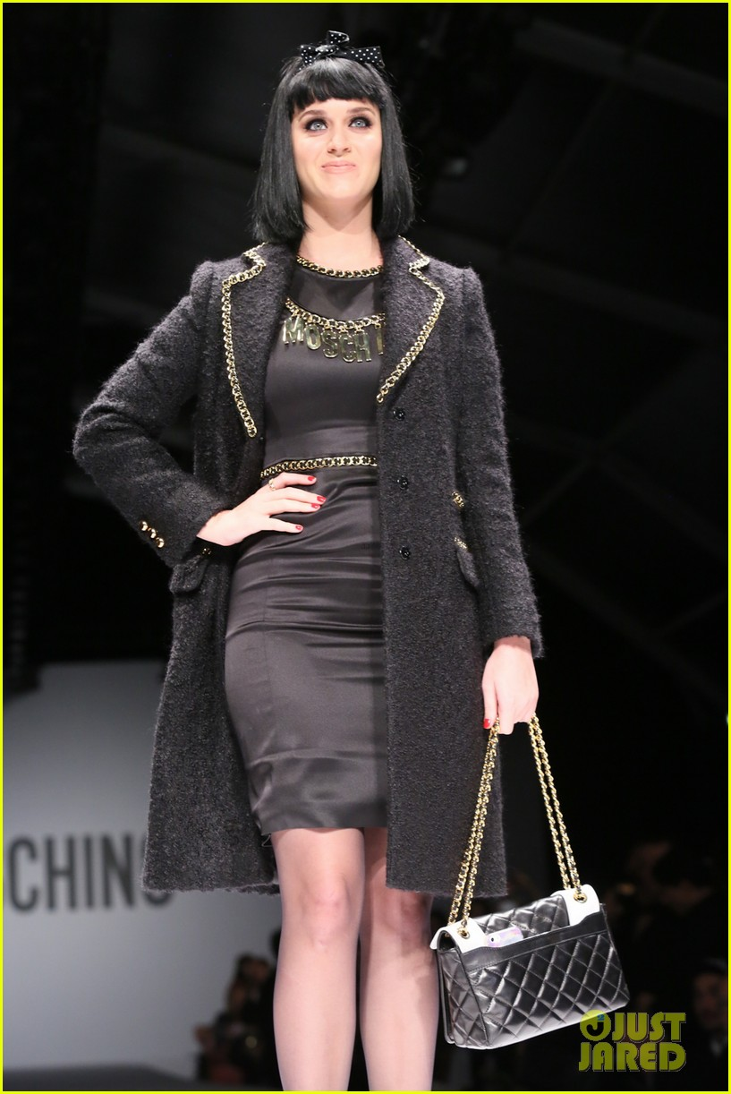 katy perry rita ora walk runway in moschino fashion show 36