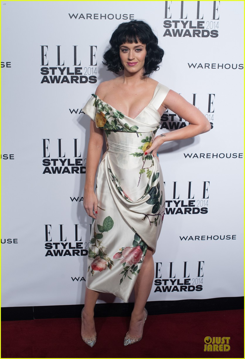 katy perry woman of the year honoree at elle style awards 2014 01