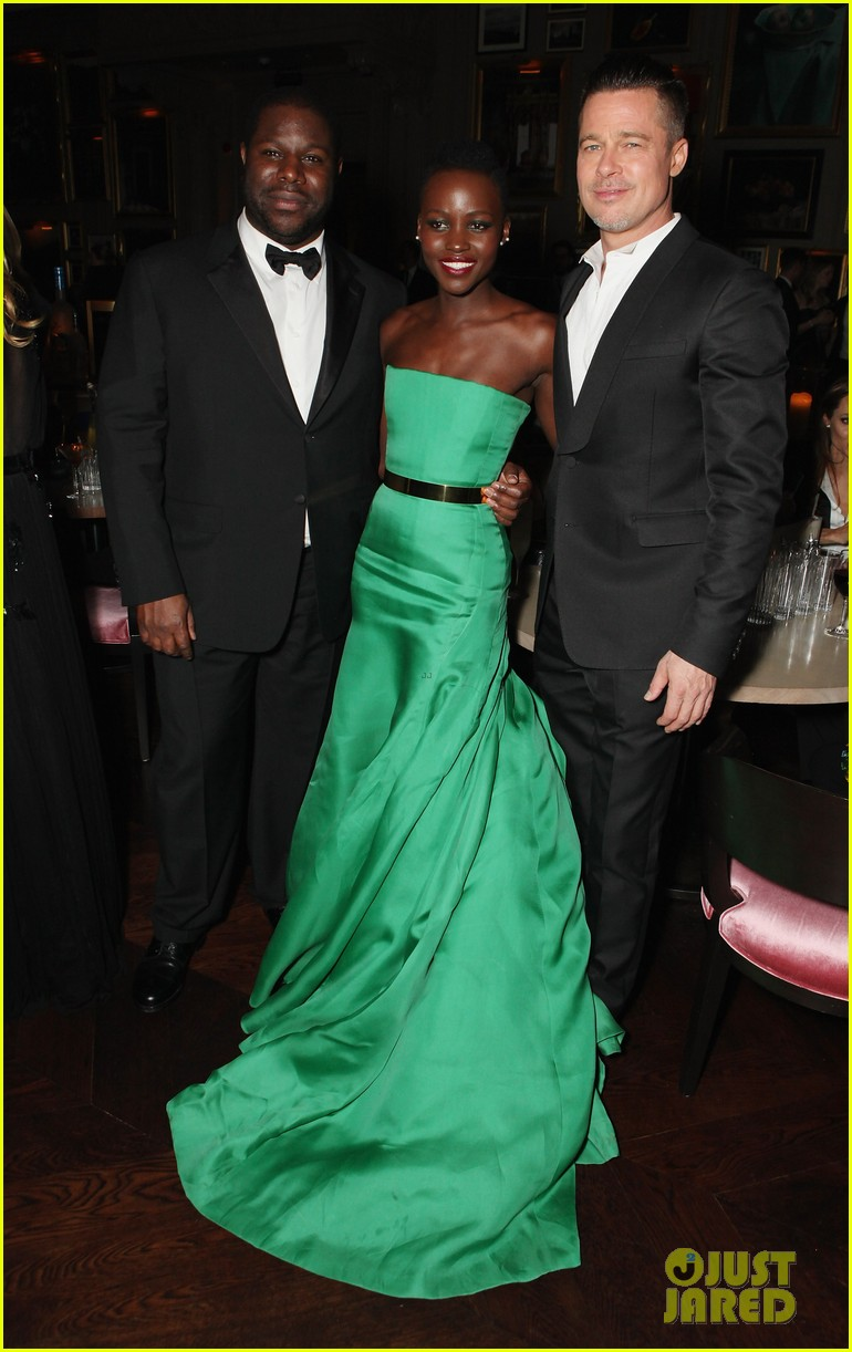 angelina jolie brad pitt baftas after party with lupita nyongo 04